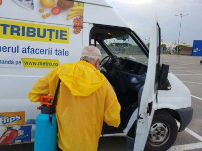 Dezinfectie autoutilitara transport alimente 3